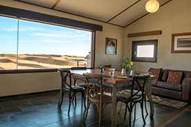 Main Dining Area with view